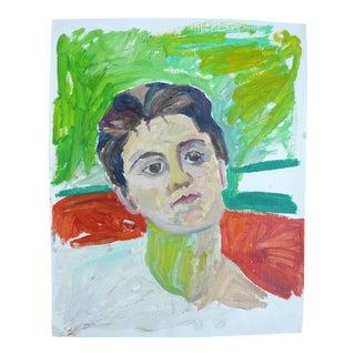 Swiss Woman Painting