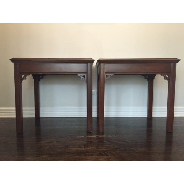 Image of Vintage Asian Side Tables - A Pair