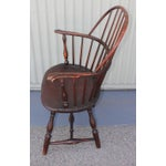 Image of 18th Century Sack Back Windsor Armchair