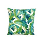 Image of Tropical Banana Leaf Pillows - a Pair