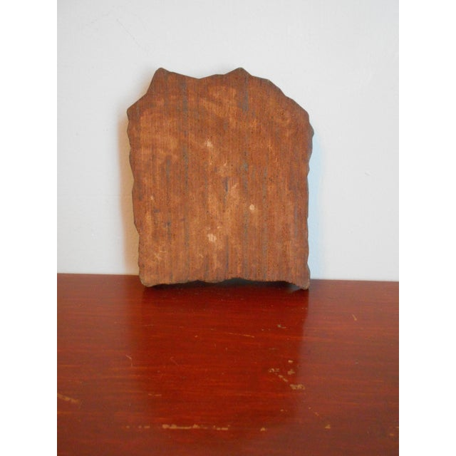 Image of Antique Wood Print Block I