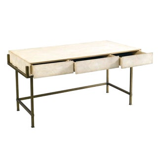 Lillian August Faux Shagreen Desk