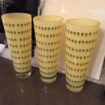 Image of Midcentury Italian Glass Vases by Egizia, Set of 3