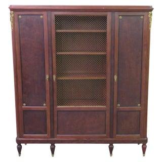 Louis XVI Style Walnut Cabinet