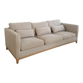 Crate & Barrel Taraval Taupe Sofa