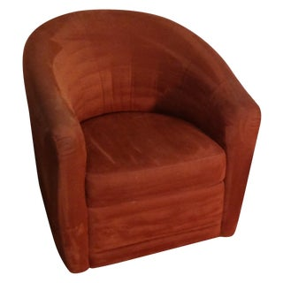 Natuzzi Swivel Club Chair