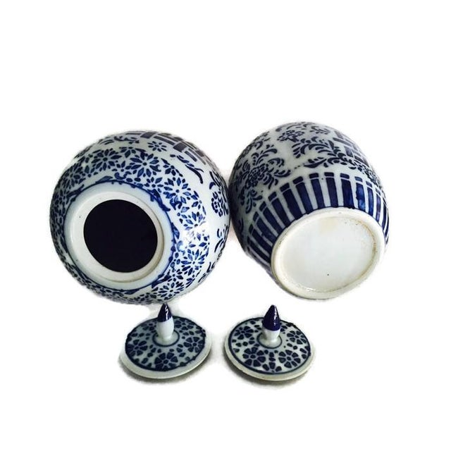 Chinoiserie Ginger Jars, Double Happiness - A Pair - Image 2 of 6