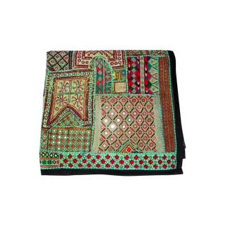Antique Gujarat Textile Throw or Wall Hanging