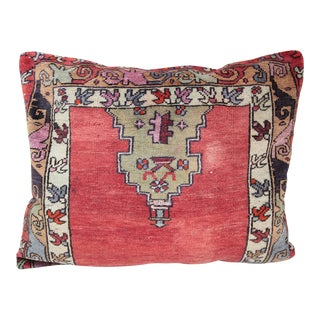 Turkish Oushak Carpet Pillow