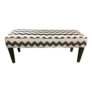 Thomasville Striped Bench