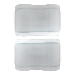 Frosted Glass Sconces From Artemide, Italy - A Pair