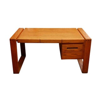 Lou Hodges Solid Oak Desk