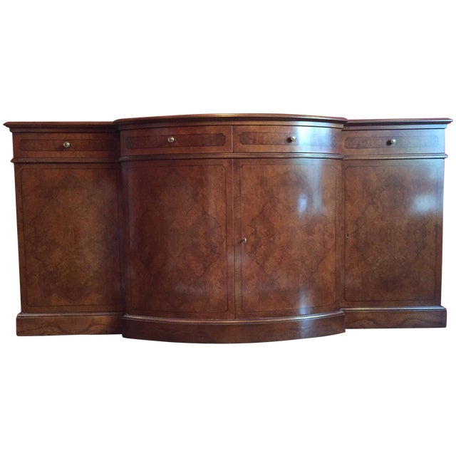 Image of Francesco Molon Burled Wood Sideboard