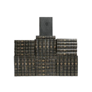 Black & Gilt Harvard Classic Books - Set of 35