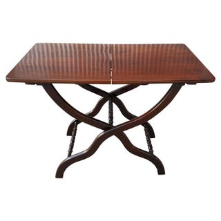 Solid Mahogany Butlers Serving Table