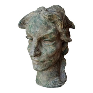 Walter Williams Circa 1920 Original Art Deco Bust