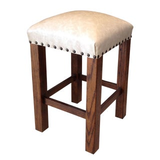 Marty Faux Leather Counter Stool