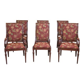 Karges Regency Style Dining Room Chairs - Set of 6