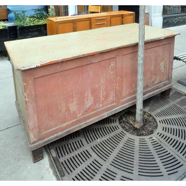 Rustic Green Dresser/Kitchen Island - Image 4 of 7