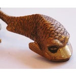 Image of 1950s Sea Creature Cabinet/Drawer Pulls - Set of 3