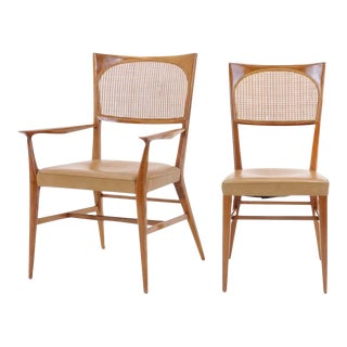 Rare Set of Six Paul McCobb Dining Chairs from The New England Collection