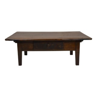 """Country French """"Coffee"""" Table"""