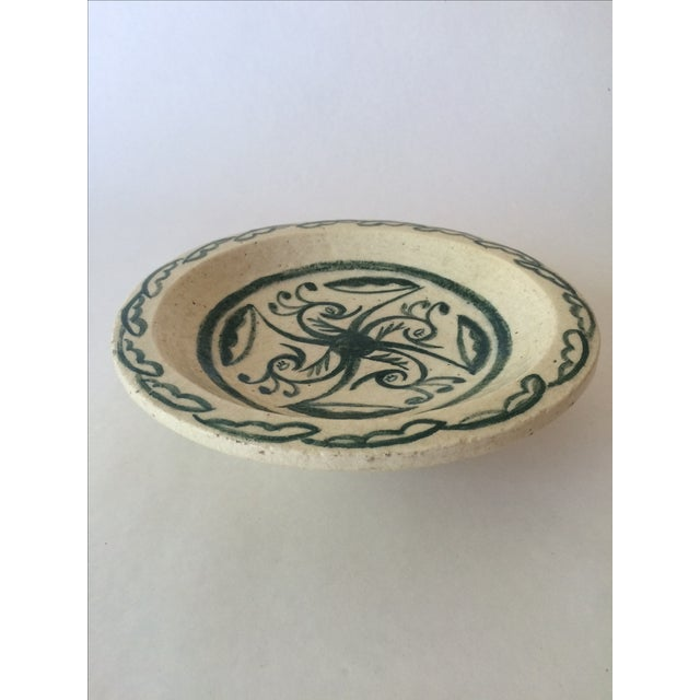Image of Vintage Footed Ceramic Bowl