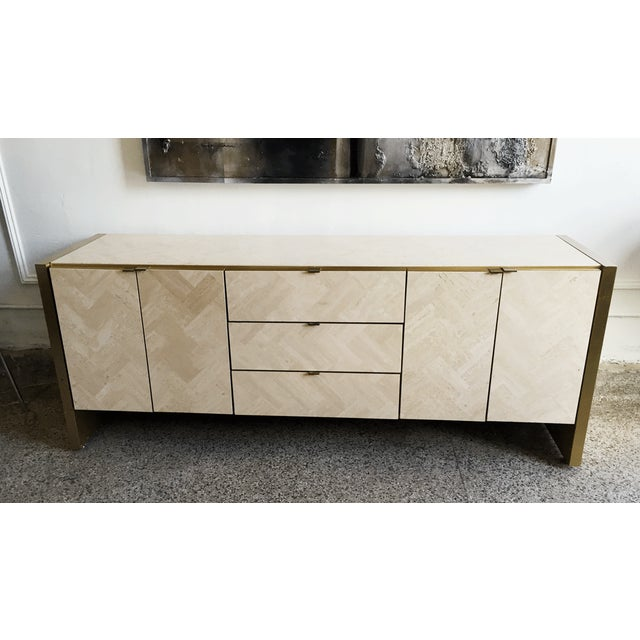 Image of Ello Travertine Sideboard