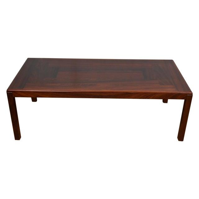 Rosewood Danish Coffee Table