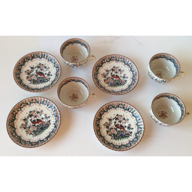 "Booths ""Old Dutch"" Cup & Saucers - Set of 4 - Image 7 of 11"