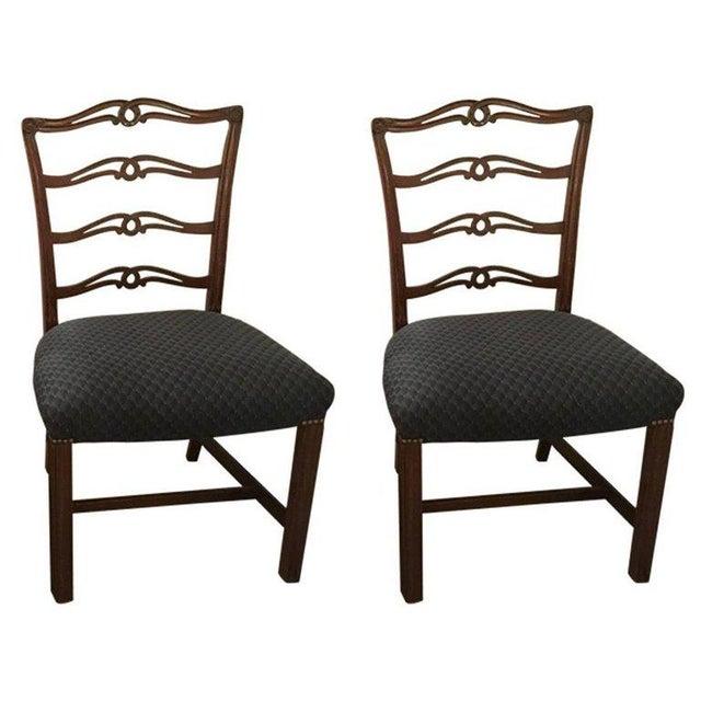 Mid-Century Italian Armchairs in Walnut - Pair   Chairish
