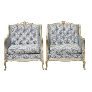 Louis XV Style Bergerés - A Pair