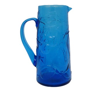 Italian Glass Pitcher