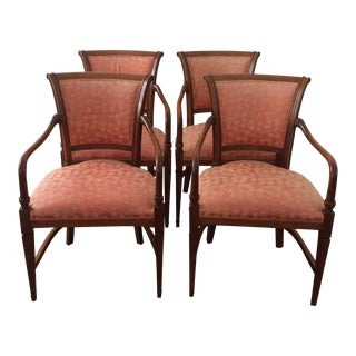 Annibale Columbo Italian Dining Chairs - Set of 4
