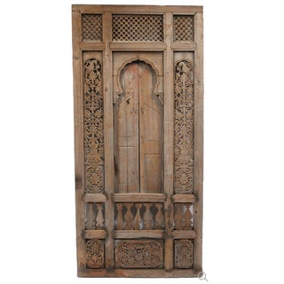 Antique Architectural Indian Window Facade
