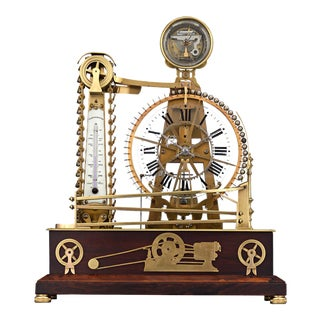 French Waterwheel Clock