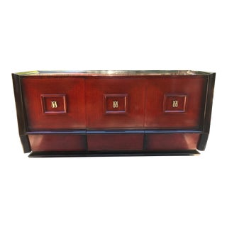 Hellam Furniture Mid-Century Asian Inspired Credenza