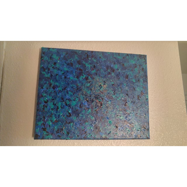 'Sea of Blue' Contemporary Painting - Image 3 of 5