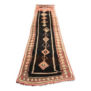 "Vintage Turkish Oushak Runner - 2'10"" X 10'10"""