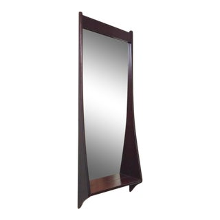 Danish Modern Pedersen & Hansen Rosewood Wall Mirror Denmark
