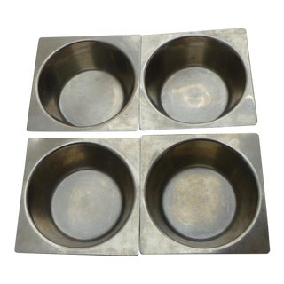 Danish Modern Stainless Steel Bowls - Set of 4