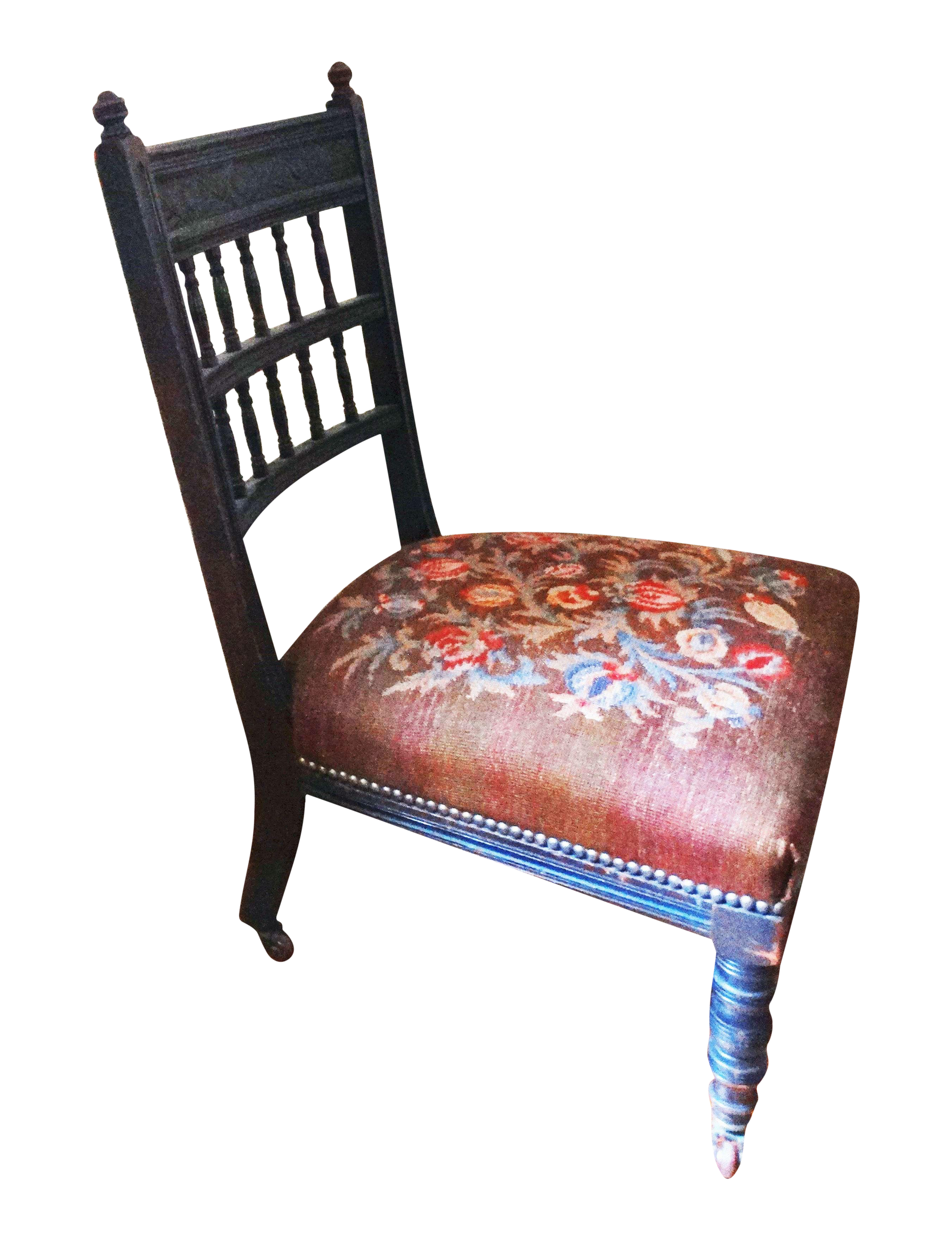 Baroque Needlepoint Victorian Ladies Sewing Chair  : baroque needlepoint victorian ladies sewing chair pomegranate design 4385aspectfitampwidth640ampheight640 from www.chairish.com size 640 x 640 jpeg 35kB