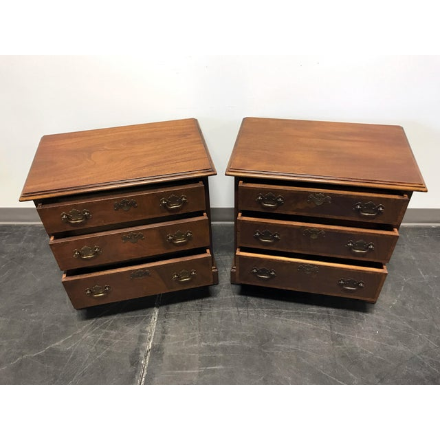 Mahogany Chippendale Bedside / Chairside Chests - Pair - Image 5 of 11