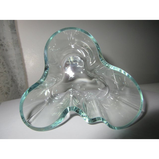 """""""Green Hue"""" Acid Etch Vase - Image 5 of 6"""