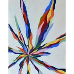 "Image of ""Pastel Beams"" Abstract Painting"
