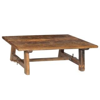 Old Teak Farm Coffee Table