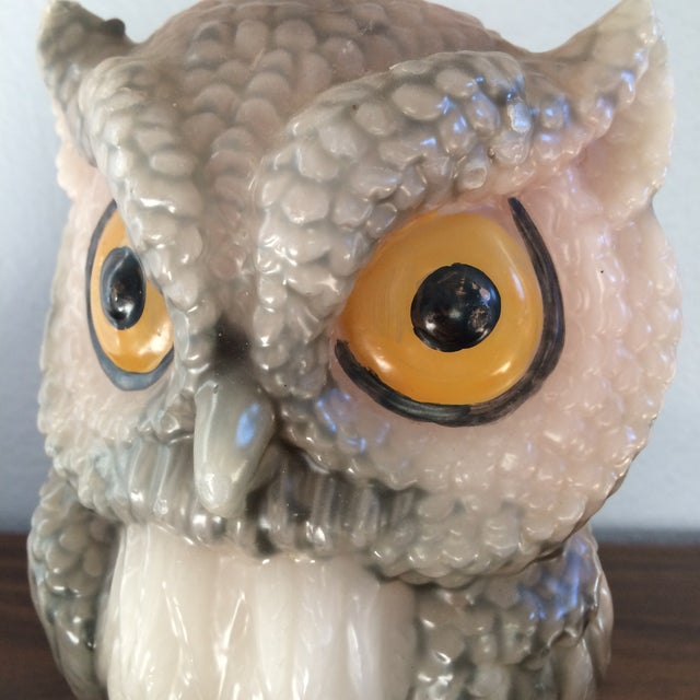 Vintage Owl Candle - Image 10 of 11