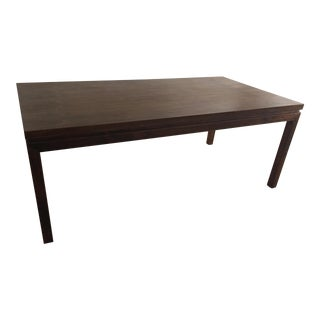 Parsons Solid Teak Dining Table