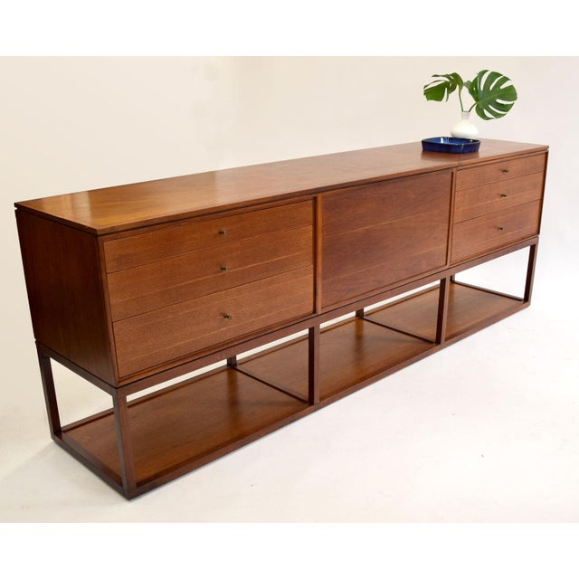 Image of Mt. Airy Mid-Century Long Room Divider Credenza