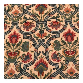 "Lee Jofa's ""New Sevilla"" in Multi Linen Fabric - Almost 3 Yds"